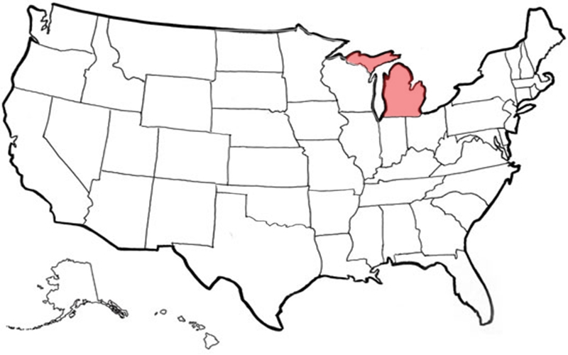 Distributors MP Global Products - Unlabeled us map