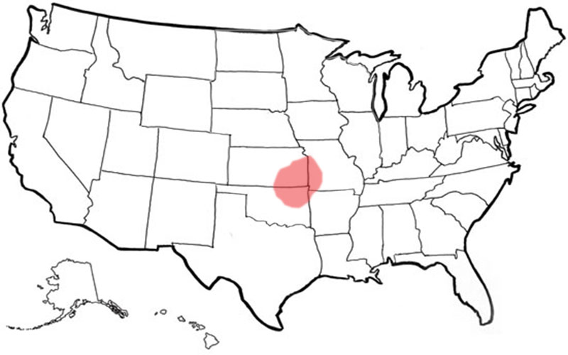 Distributors MP Global Products - Usa map empty